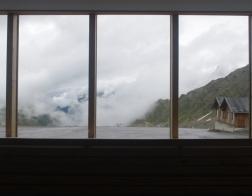 Rakousko - údolí Kaunertal, Gletscherrestaurant