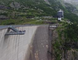 Rakousko - Udolí Maltatal a přehrada Kölnbrein
