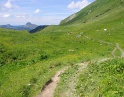 Rakousko - výlet do hor u města Tannheim
