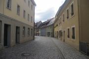 Saské Švýcarsko - ulička v Bad Schandau