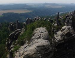Saské Švýcarsko - vyhlídka Torstein
