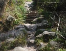 Saské Švýcarsko - cestou bylo značné množství schodů