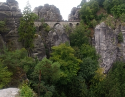Saské Švýcarsko - Basteibrücke