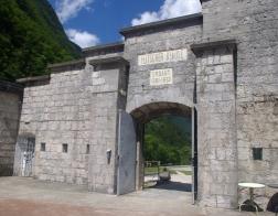 Slovinsko - pevnost Kluže