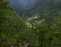 Slovinsko - cesta od pevnosti Kluže k pevnosti Hermann