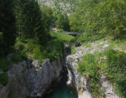 Slovinsko - řeka Soča