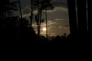 Západ Slunce u Loučeně