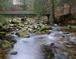 Česká republika - řeka Mumlava