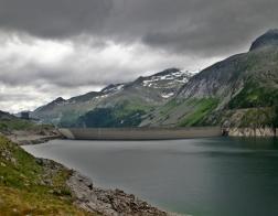 Rakousko - přehrada Kölnbrein