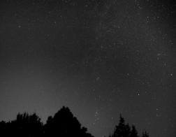 Česká republika - noční obloha