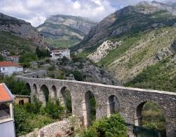 Černá Hora - akvadukt, Stari Bar