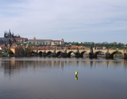 Česká republika - Praha, Karlův most a Pražský hrad