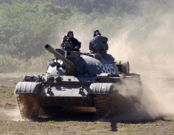 Česká republika - tankový den v Lešanech 2016