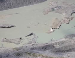 Rakousko ledovec Pasterze