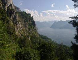 Rakousko jezero Traunsee