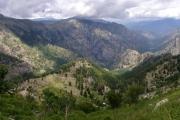 Korsika cesta k Lac dOriente