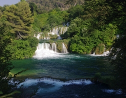Chorvatsko národní park Krka