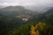 Adršpašsko-teplické skály výhled z hradu Střmen