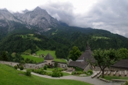 Rakousko hrad Hohenwerfen