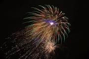 Novoroční ohňostroj v Nymburce